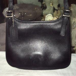 Vintage Coach Leather Cross Body Bag
